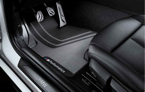 bmw m performance genuine front floor mats set f20 f21 1 series 51472241464 ebay