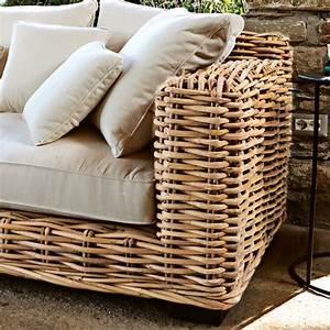 Outdoor Möbel Rattan : sofa rimini loberon coming home ~ Markanthonyermac.com Haus und Dekorationen