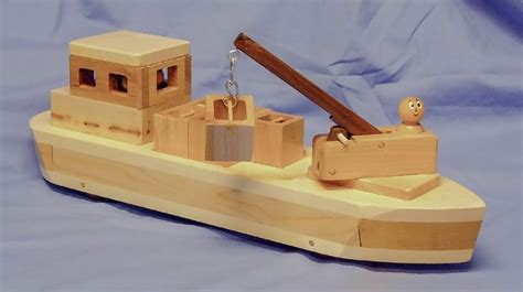 Toy Ships And Boats by Chickory Wood Products Design And Hand Makes Wooden Toys