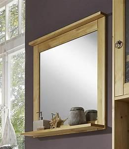 Spiegelschrank Badezimmer Holz : badezimmer spiegel 67x67 kiefer gelaugt ge lt badspiegel holz massiv ~ Markanthonyermac.com Haus und Dekorationen