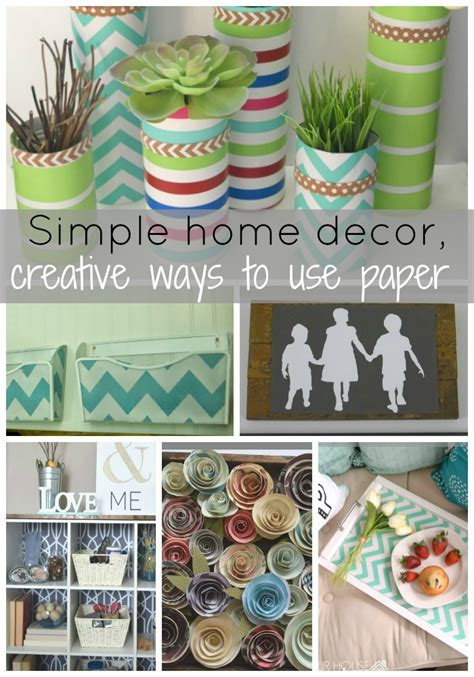 How To Make Wall Art Using Paper Flowers • Our House Now A