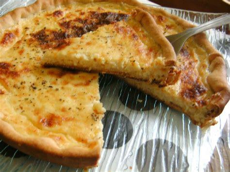 une tarte au fromage b 233 chamel et emmental doux fondant