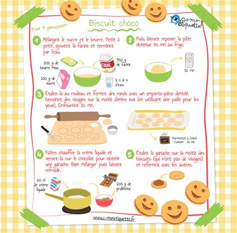 recette biscuits maison au chocolat
