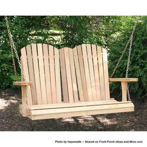 front porch swing plans photo gallery adirondack porch swings classical and comfortable