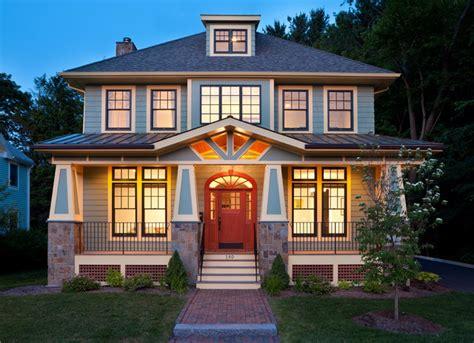 modern bungalow craftsman exterior boston by