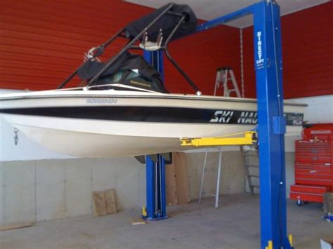 How To Lift A Boat Off The Trailer To Paint by Removing Boat With An Auto Lift Page 1 Iboats Boating