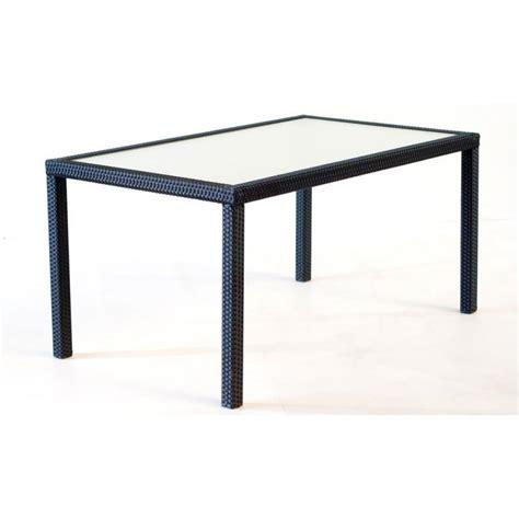 table de jardin 192 cm en r 233 sine tress 233 e 8 personnes wood en stock