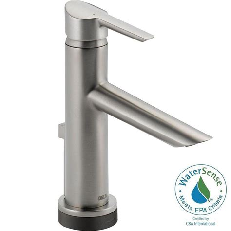 delta compel single single handle bathroom faucet