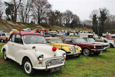New Year's Day Classic Cars Gathering At Brooklands Museum