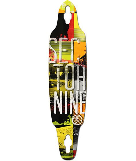 sector 9 drifter ii 38 quot drop through longboard deck at