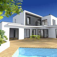 maison moderne plain pied toit plat 1 plan maison moderne plain pied maisons modernes