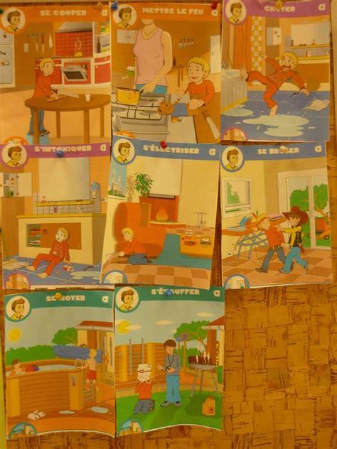 les dangers de la maison suite notre classe de et moyenne section