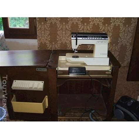 meuble machine coudre singer clasf
