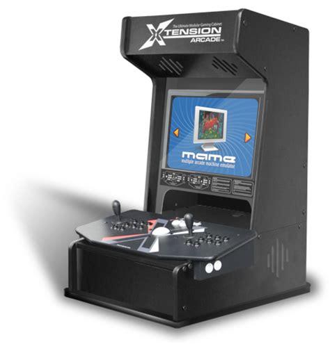 xtension mini arcade cabinet for x arcade tankstick bartop arcade ebay