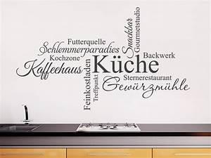 Wandtattoo Küche Bilder : wandtattoo wortwolke k che wandtattoo de ~ Markanthonyermac.com Haus und Dekorationen