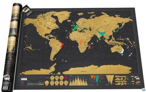 luckies scratch map la carte du monde 224 gratter 233 dition deluxe