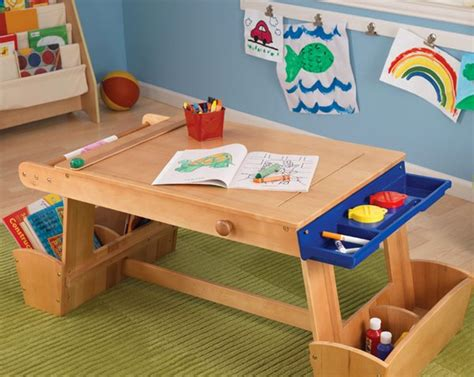 15 Kids Art Tables And Desks For Little Picassos  Home. Parsons Writing Desk. John Adams Desk. Hideaway Desk. Modular Office Desk Systems. Commercial Desk. Bunk Bed With Desk Underneath For Sale. Surfshelf Treadmill Desk. Modular Reception Desk