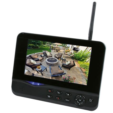 kit surveillance sans fil ecran 7 quot et mini vision nocturne