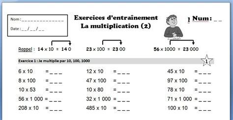 s 233 quence compl 232 te sur la multiplication non d 233 cimale pour le cycle 3 journal d une pe ordinaire