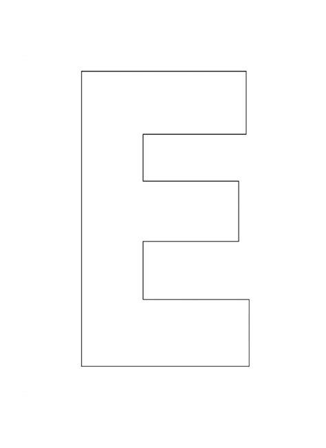 diferença page e template printable alphabet letter e template alphabet letter e