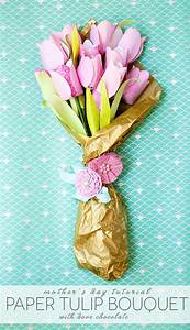 Mother's Day Cheery Chocolate Paper Tulip Tutorial - Frog ...