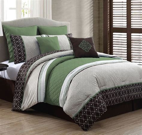 New Luxurious King Size Bed in a Bag 8Piece Comforter Set