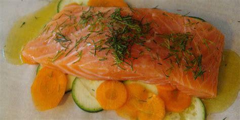 recette saumon en papillote facile jeux 2 cuisine