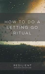 How to Do a Letting Go Ritual | Mental health, Psychology ...