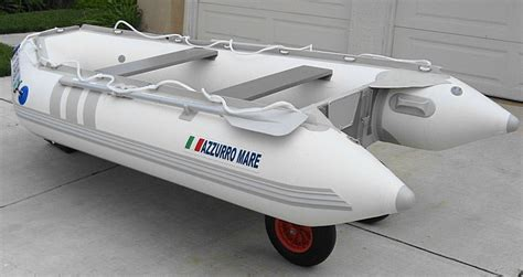 Inflatable Boat Dinghy by Aluminium Launching Wheels For Inflatable Boat Dinghy