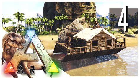 Ark Boat Youtube by Ark Survival Evolved Houseboat S2e04 Ark Gameplay
