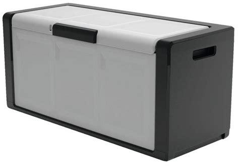 coffre de rangement 300 l 118x55x49 cm concepto brico d 233 p 244 t