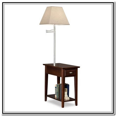 end table with l attached walmart 28 images ottoman