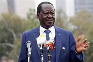 BREAKING: Kenyan opposition leader Raila Odinga sworn in ...