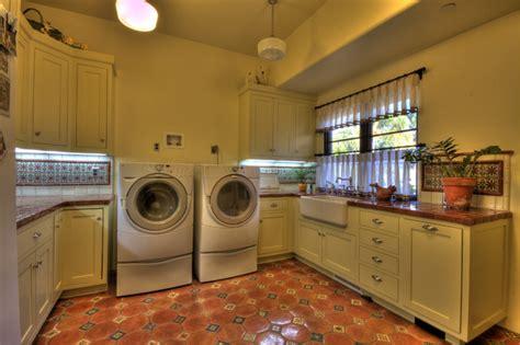 1929 Spanish Revival  Mediterranean  Laundry Room