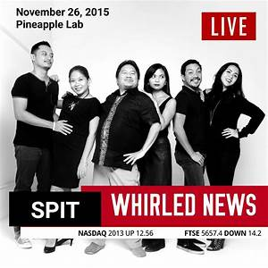Whirled News by SPIT Comedy Improv | Agimat: Sining at ...