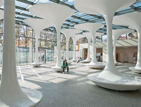 tmw technical museum entrance design by querkraft architects architecture interior design