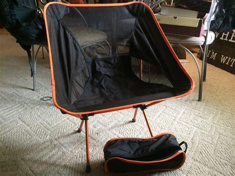 generic c chair similar to rei flex lite and bigagnes