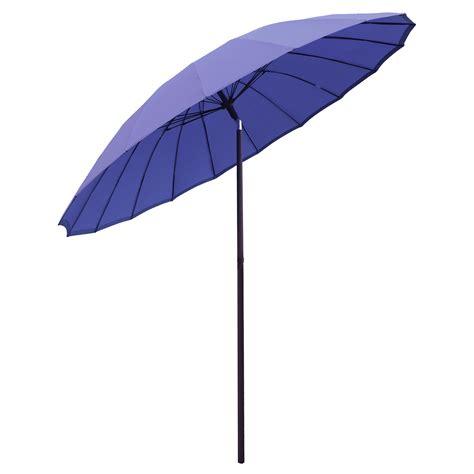 new 2 5m tilting shanghai parasol umbrella sun shade for garden patio furniture