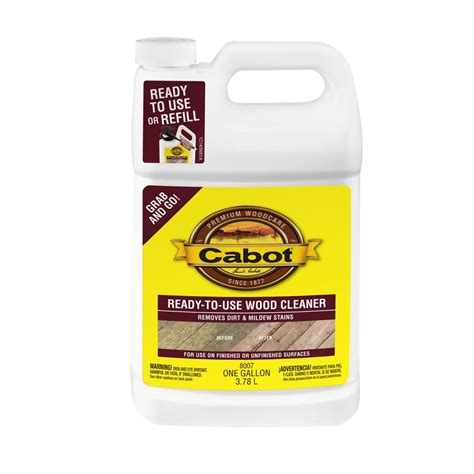 Lowes Canada Deck Cleaner by Cabot Ready To Use Deck Wash Wood Cleaner Lowe S Canada