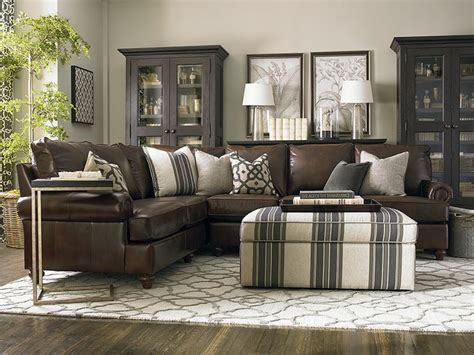 brown leather sectional living room ideas best 25 leather sectional sofas ideas on