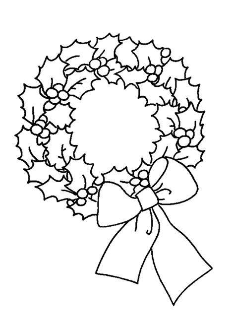 coloriage couronne noel noeud sur hugolescargot