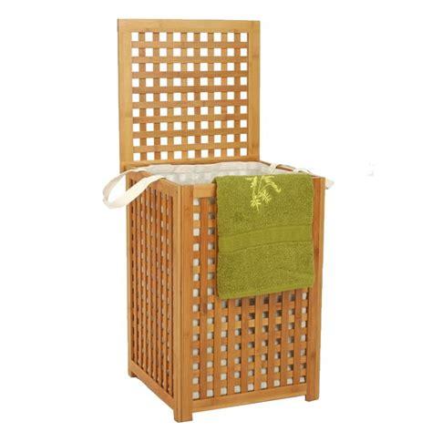 panier 224 linge quot bambou quot beige