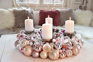 Adventskranz Rot Selber Machen : adventskranz aus weihnachtskugeln selber machen ~ Markanthonyermac.com Haus und Dekorationen