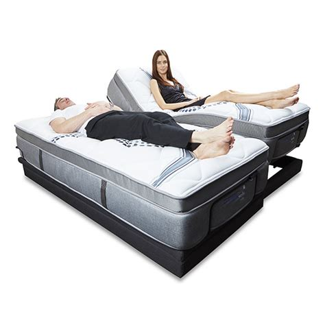 ebc220 electric adjustable bed base from reverie