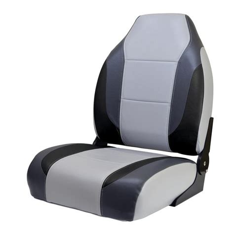 Bass Boat Bucket Seat Covers by Wise Seating Bass Boat Seat Gray Charcoal Black West Marine