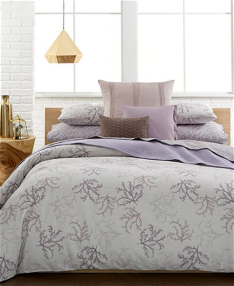 calvin klein mesa duvet cover sets bedding collections bed bath macy s
