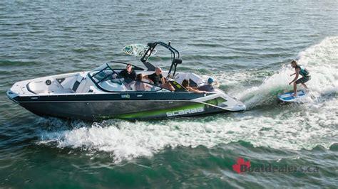Scarab Wake Boat Reviews by 2016 Scarab Impulse 255 Ho Wake Doovi