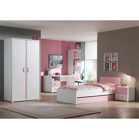Mädchen Kinderzimmer Francesca In Weiß Rosa Pharao24de