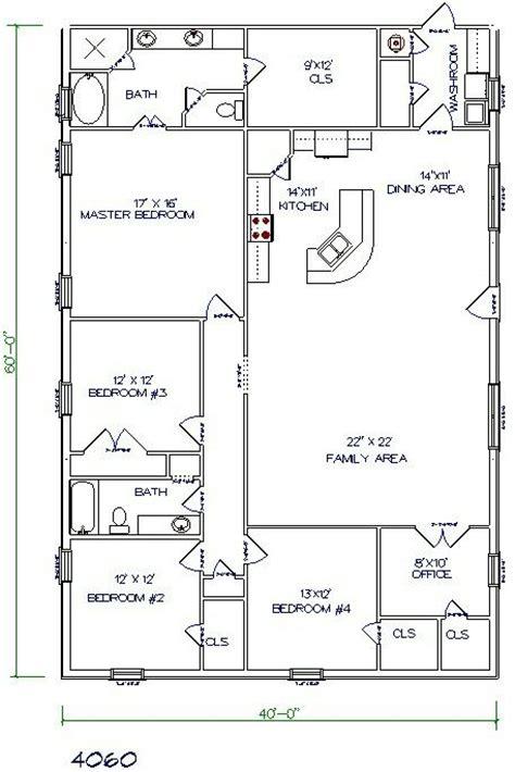 best 25 40x60 pole barn ideas on barndominium floor plans simple home plans and