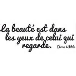 stickers citation la beaut 233 citation d oscar wilde 224 9 95